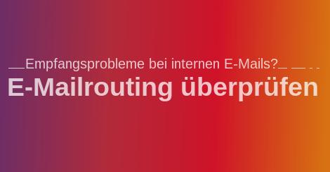 E-Mailrouting